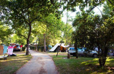 Un camping calme en Périgord Noir