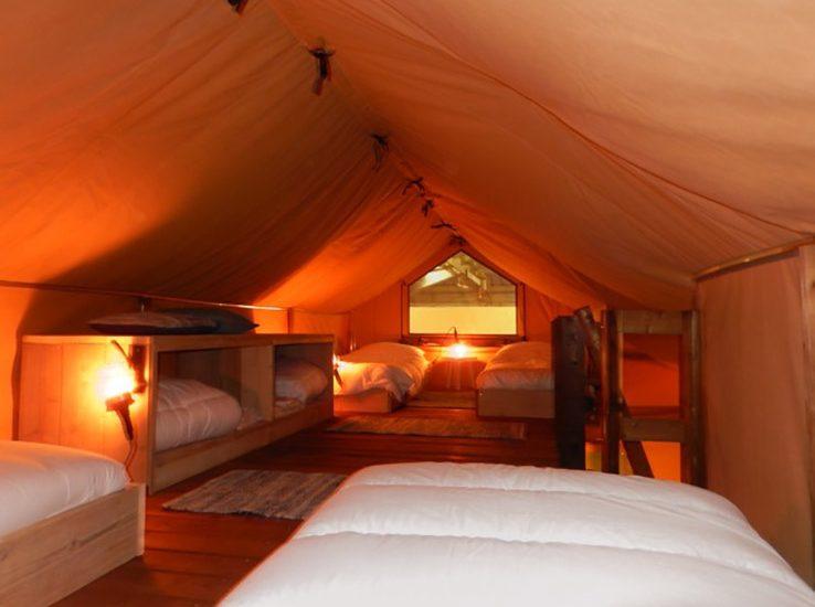 Safari Lodge et ses chambres