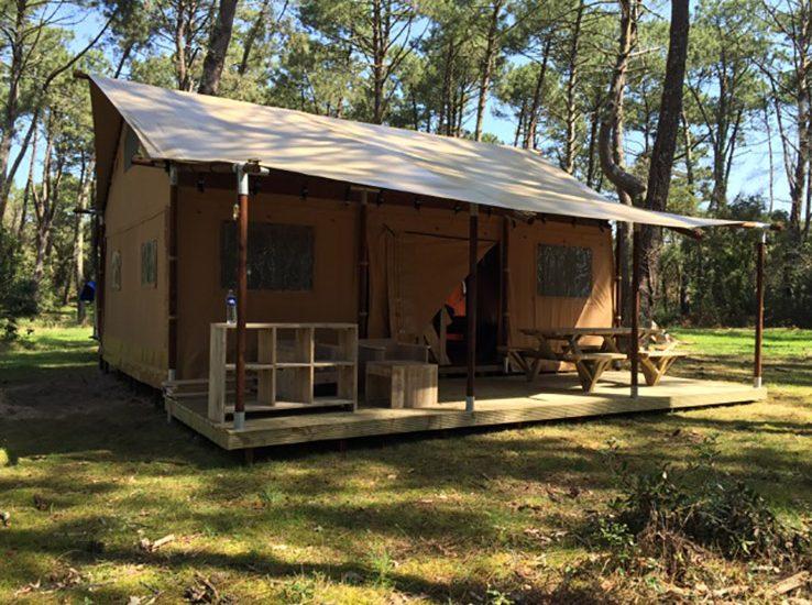 Safari Lodge avec terrasse couverte