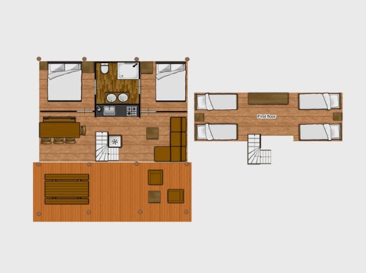 Plan de la Safari Lodge
